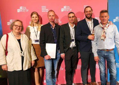 Medienfachwirte und Industriemeister Print Preisträger 2019