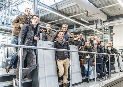 Fachschule Exkursion Heidelberger Druckmaschinen